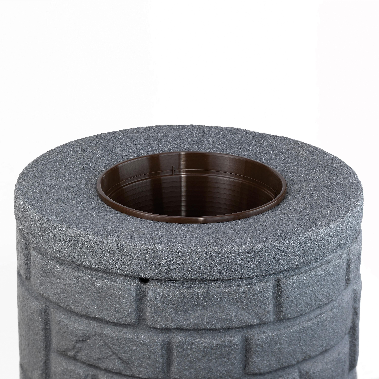 regentonne anthrazit modell arcado 230 l black granit. Black Bedroom Furniture Sets. Home Design Ideas